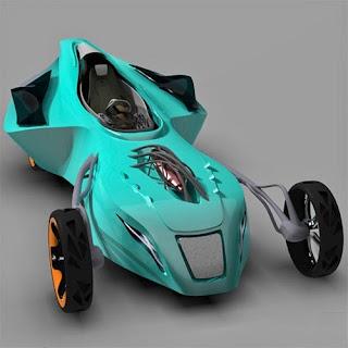 Morflex, the 2050 race car
