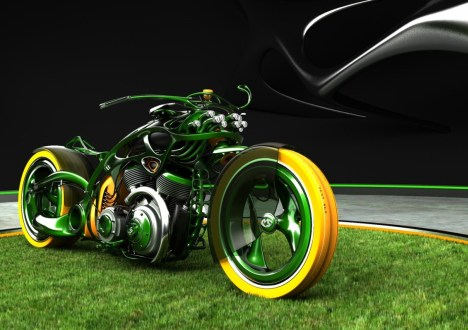 M-Org Motorcycle Green Concept