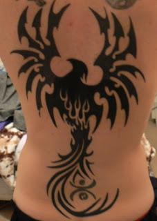 phoenix tattoos, tattooing