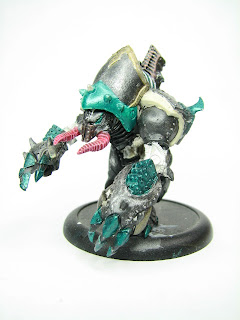 Work in Progress: Cryx Seether model from Privateer Press