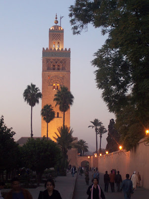 Koutoubia Mosque, Marrakech, Morocco