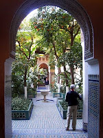 One of the many courtyards, Palais de la Bahia