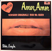 ROD McKUEN1977Amor Amor Slide.Easy In (polydor). Magnifique! (front)