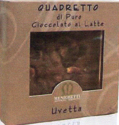 QUADRETTO LATTE E UVETTA