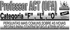 Dúvidas mais frequentes sobre ACT (OFA)