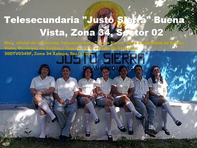 """Telesecundaria """"Justo Sierra"""" Buena Vista, Zona 34, Sector 02, Telesecundarias Veracruz"""