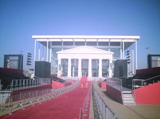 O imponente Teatro de Paulínia