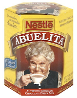 abuelita drinking chocolate