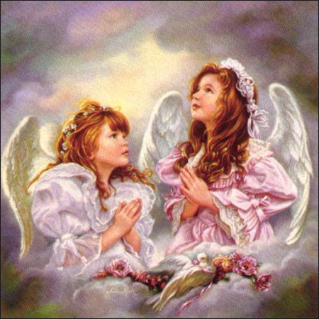pic of angels praying