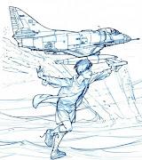 . de los pilotos argentinos que combatieron en la guerra de Malvinas. nene