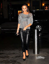 Victoria Beckham Leather Pants