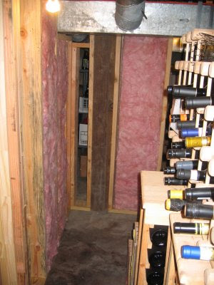 Chez Ray wines designed to age are kept in my passive cool basement. As summers have warmed the temperature in the basement ... & Chez Ray Winemaking: Insulating the Chez Ray Wine Cellar