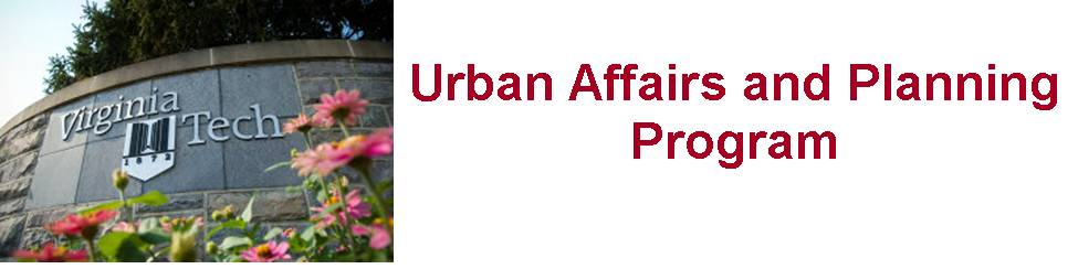 VT Urban Affairs and Planning