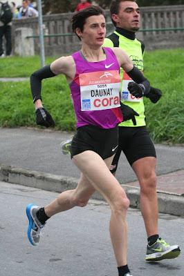 Chistelle Daunay record semi marathon