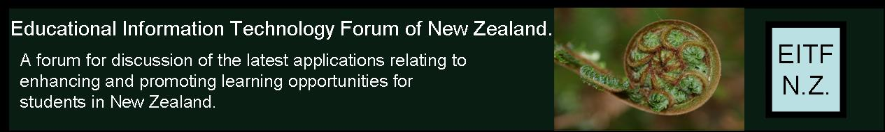 Educational IT Forum of New Zealand.