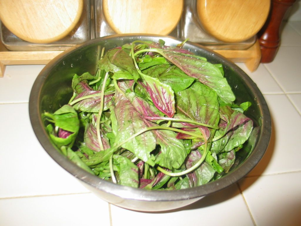 How to cook amaranth greens