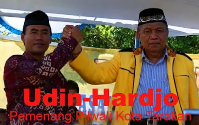 Profil Udin-Hardjo Pemenang Pilwali Kota Tarakan - Ardiz Tarakan
