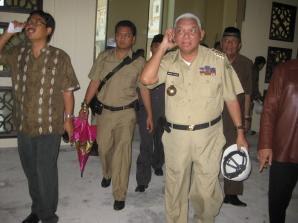 Gubernur Kaltim Kagumi Pembangunan Islamic Centre Tarakan