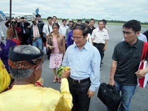Rombongan Vietnam ke Tarakan Pelajari Kehutanan - Kaltim Borneo