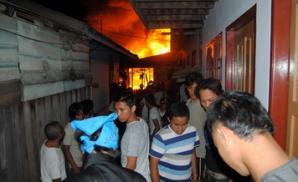 Dua Kali Kebakaran dalam Sehari di Tarakan - Borneo