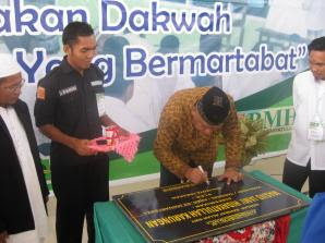 Walikota Tarakan Resmikan Masjid Jami Hidayatullah - Borneo