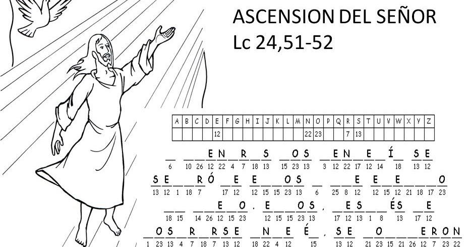 Educar con Jesús: Ascensión del Señor Lc 24,51-52 Detectives