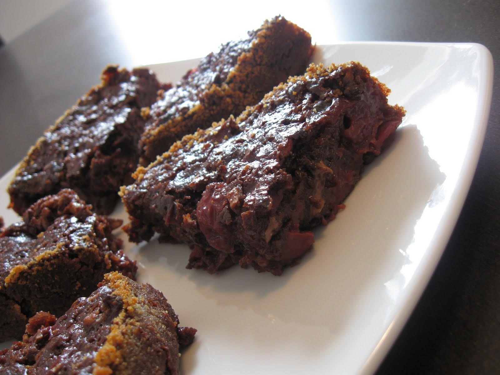 Küchenzaubereien: Cherry Chocolate Brownies