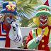 Palhaços Patati e Patatá na Semana da Criança em Limoeiro