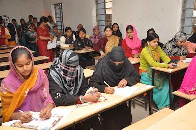 Fokania examination of Bihar Madrasa Board began in Patna on January 31, 2011.