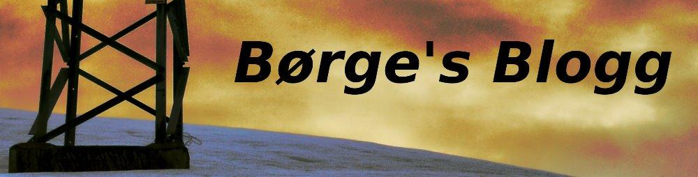 Børge's Blogg