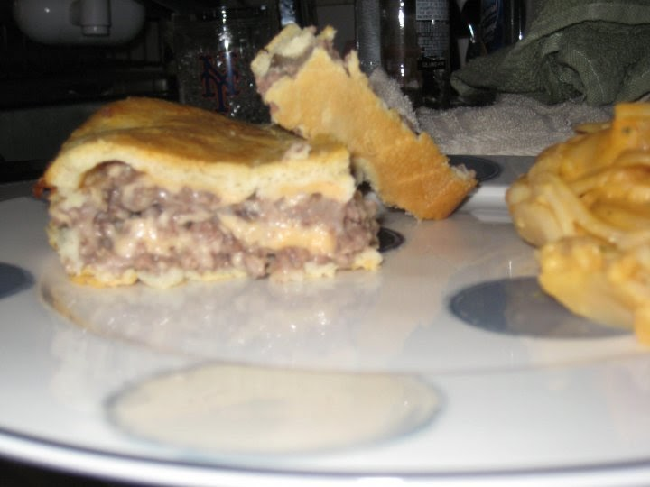 Eating With A: Hamburger Pie!