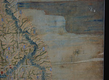 """Jeongukdo"" (全國圖) from the ""Dongguk Daecheondo"" (東國大全圖) - 1740"