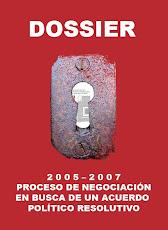 El último proceso negociador con el Estado español