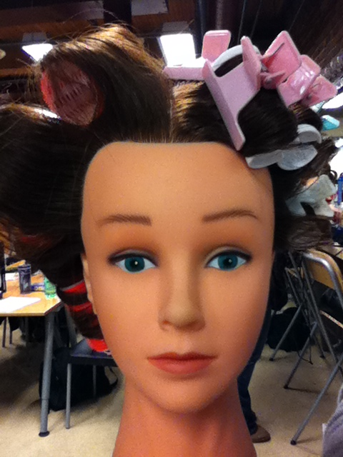 velcro rollers hairstyles. side is Velcro Rollers