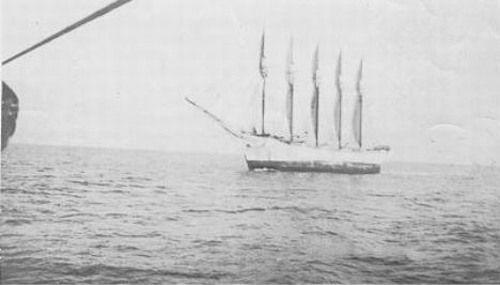 El barco fantasma, El Carroll A. Deering