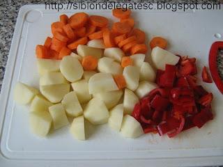 legume pui la cuptor
