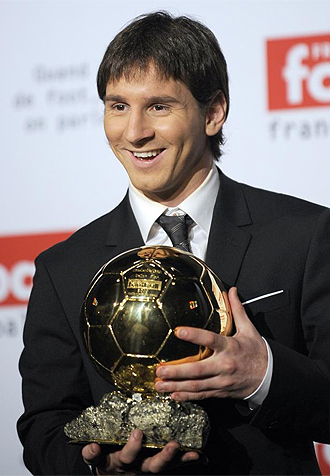 messi , balon de oro