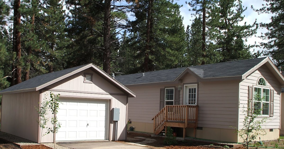 Shed Talk Garage With Manufactured Home