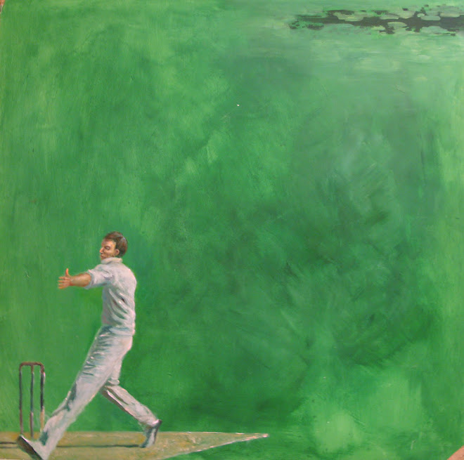 Cricket I - Acrylics - 2010