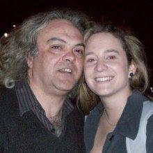 Mi foto con una famosa