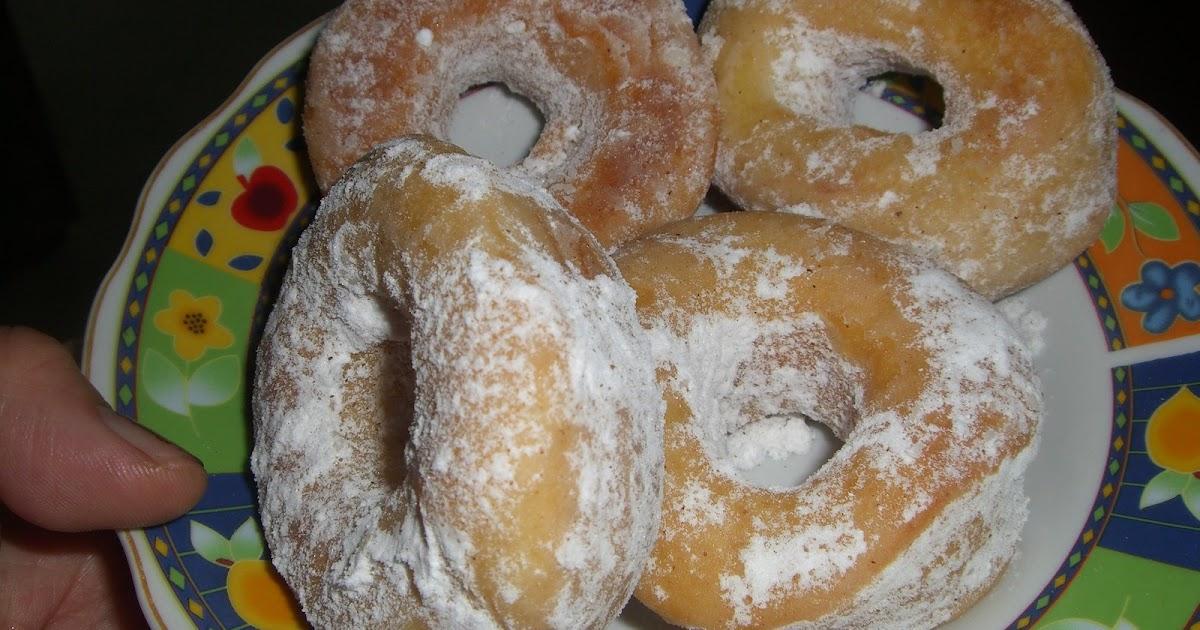 Resep Keluarga Cinta: Donat kentang tabur gula (resep 2)