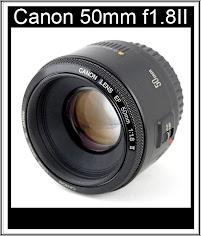 Canon 50mm f1.8II