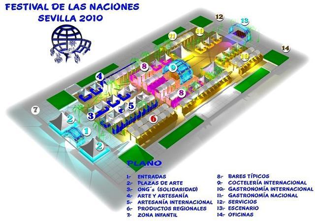 Plano 2 Festival del Naciones Sevilla 2010