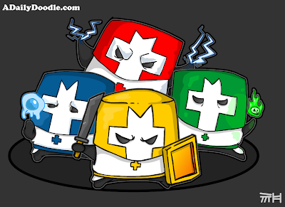 Newgrounds Castle Crashers