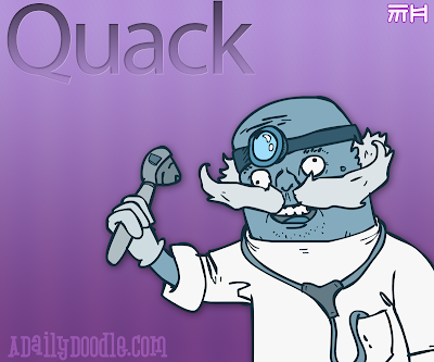 q is for quack  is for Quack
