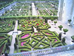 Les magnifiques jardins de Villandry