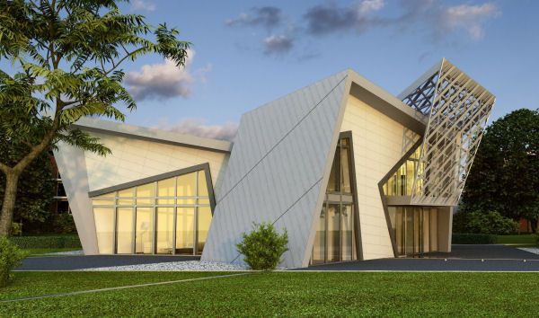 Miracle mood pre fab house daniel libeskind for Villa architect