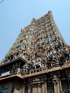 Madurai temple,Meenakshi Amman temple,Meenakshi Amman temple Towers,bottom to top view