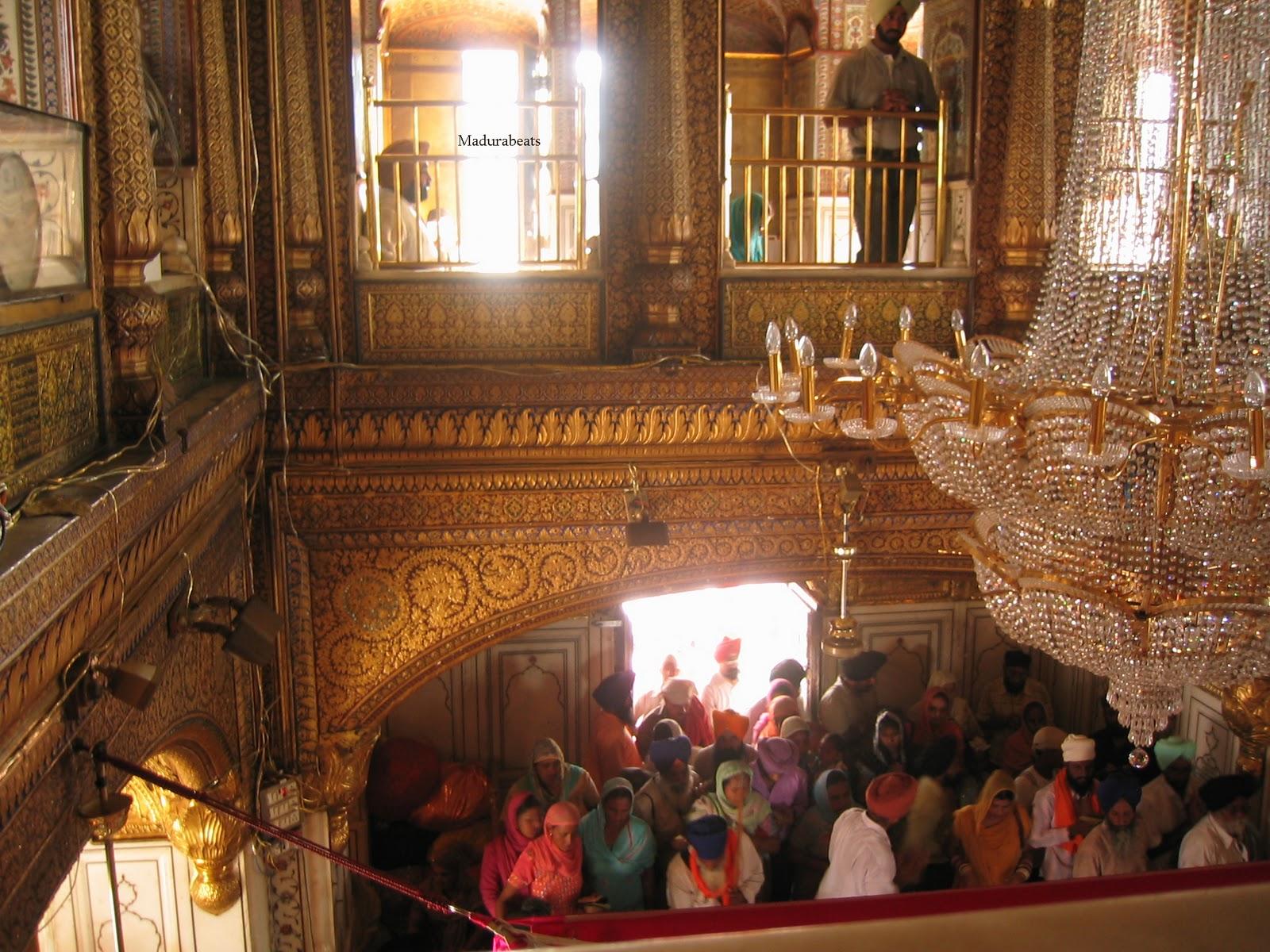 Amritsar Golden Temple interior Lights