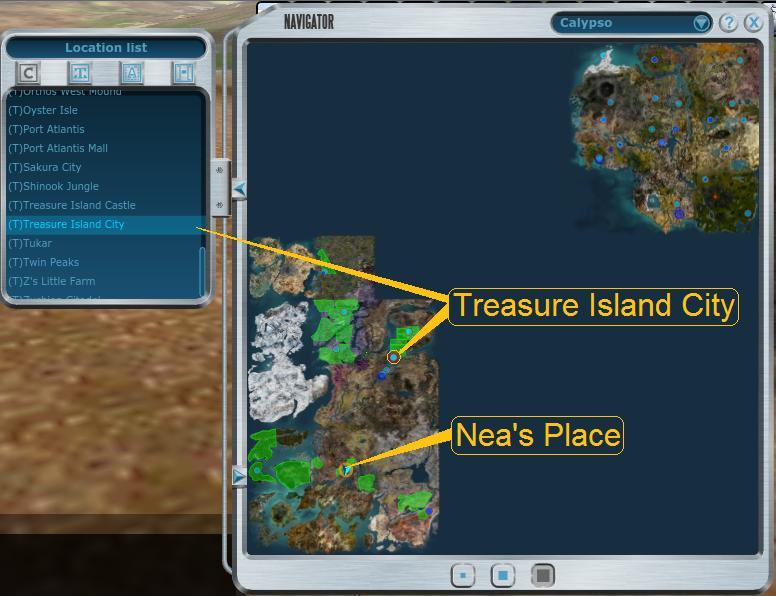 Entropia Treasure Island